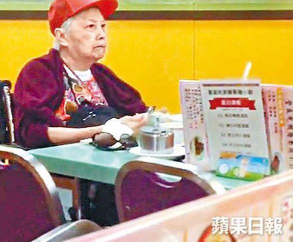 Bà Hà Bình trong viện dưỡng lão những ngày cuối đời.