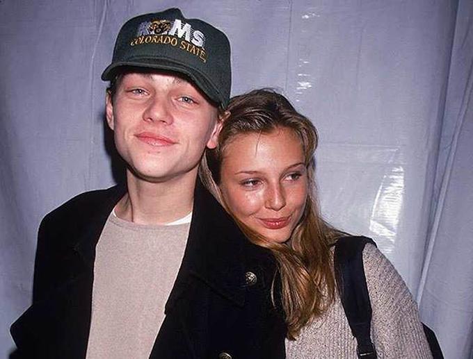 Bridget Hall được ghi nhận là người yêu đầu tiên của Leo trong showbiz. Báo The London Sun từng đưa tin, cặp đôi được bắt gặp nhiều lần bên nhau trên đường phố ở New York vào năm 1994. Nữ siêu mẫu người Mỹ luôn phủ nhận mối quan hệ này, song có tin đồn nói rằng, cô từng chê kỹ năng