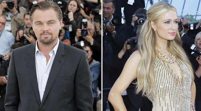 Có đông bạn bè chung, lại nhiều lần cùng vui hết nấc ở các bữa tiệc, Leonardo DiCaprio và ca sĩ Paris Hilton vướng tin đồn tình cảm năm 2000.