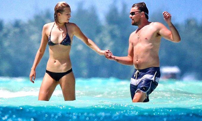 Người mẫu nội y người Đức Toni Garrn sinh năm 1992 là mối tình khá lặng lẽ của Leo kéo dài 18 tháng. Cặp đôi chia tay vào cuối năm 2014.