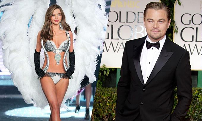 Năm 2012, Miranda Kerr và Leonardo DiCaprio thường xuyên xuất hiện chung, có nhiều cử chỉ thân thiết tại các sự kiện tiệc tùng. Tin đồn tình cảm của họ thêm ồn ào vào một năm sau đó, khi người đẹp bốc lửa chính thức ly hôn Orlando Bloom.