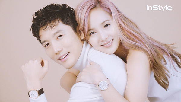 Nam diễn viên Ki Tae Young và nữ diễn viên Eugenegặp nhau lần đầu tiên trên trường quay của bộ phim truyền hình Tìm kiếm tình yêu năm 2009. Sau khi bộ phim đóng máy, tin đồn phim giả tình thật của cặp đôi bắt đầu rộ lên. Tới năm 2012, cặp đôi bất ngờ tuyên bốkết hôn. 3 năm sau, hai người hạnh phúc chào đón con gái đầu lòng. Tháng 4 vừa qua, đôi vợ chồng trẻ xác nhận Eugene đang mang bầu người con thứ hai và nhận được nhiều lời chúc mừng của người hâm mộ.