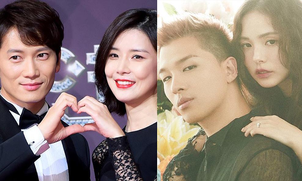 Hôn nhân của 7 cặp sao 'kiệm lời' xứ Hàn