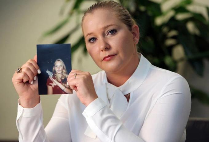 Virginia Roberts tuyên bố bị tỷ phú Mỹ lạm dụng từ năm 16 tuổi. Ảnh: Sun.