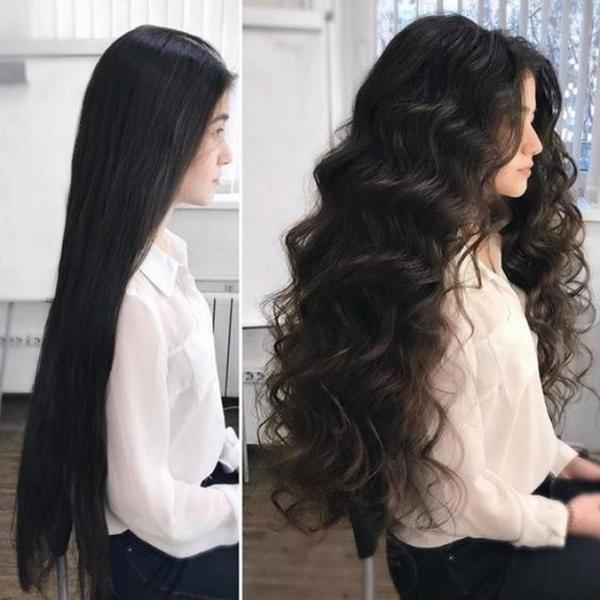 Kiểu uốn xoăn giúp hack tuổi, tóc dài hay ngắn đều xinh - 5