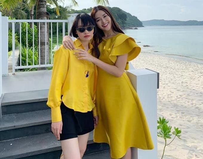 Phong cách của Hoa hậu Lương Thùy Linh và hai Á hậu sau đăng quang - 8