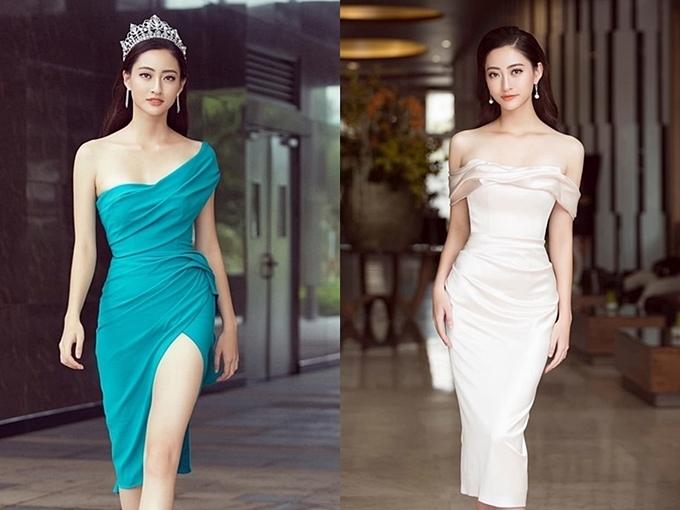 Phong cách của Hoa hậu Lương Thùy Linh và hai Á hậu sau đăng quang - 5
