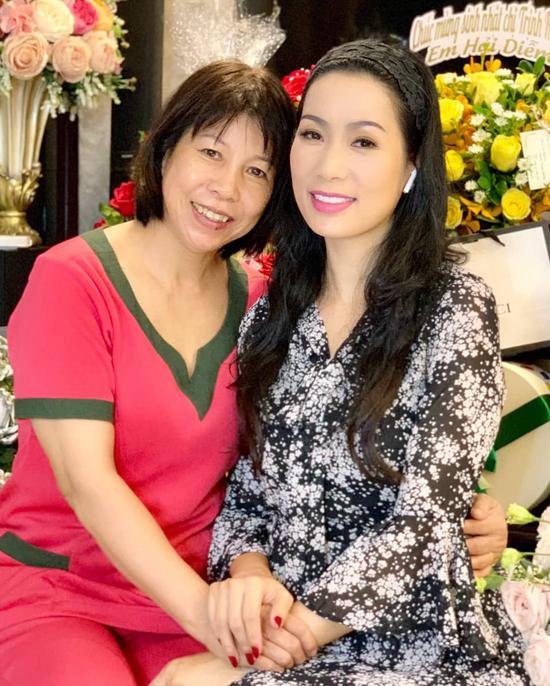 Chị ruột của Trịnh Kim Chi mừng tuổi mới của em gái.