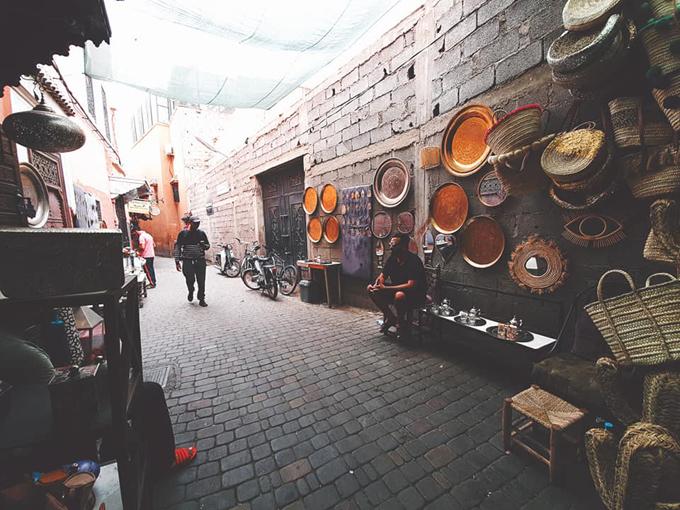 Ngô Thanh Vân đến thành phố đỏ huyền ảo ở Maroc - 7