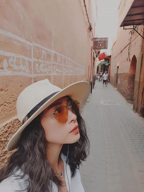 Ngô Thanh Vân đến thành phố đỏ huyền ảo ở Maroc - 8