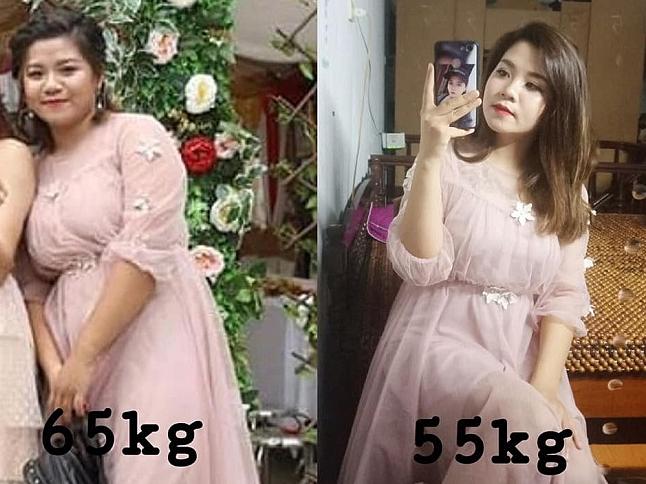 Bị chê béo như mẹ sề, thiếu nữ Hà Nội giảm 11 kg sau 4 tháng