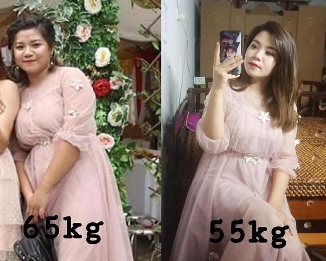 Mức cân 65 kg khiến cô gái sinh năm 1999 không khỏi tự ti, chán nản.