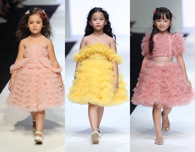 Con gái Xuân Lan, bản sao nhí Hồ Ngọc Hà trình diễn thời trang - 9