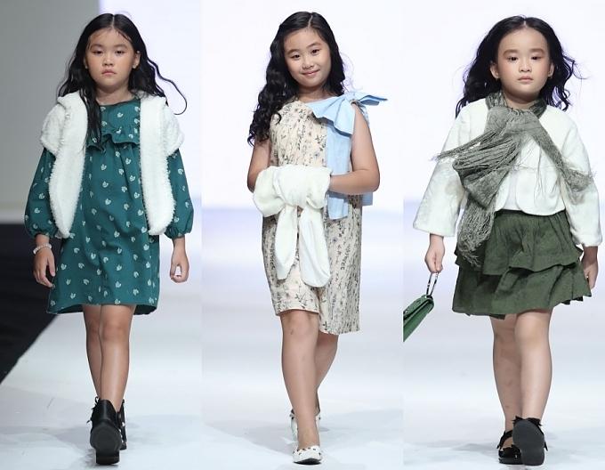 Con gái Xuân Lan, bản sao nhí Hồ Ngọc Hà trình diễn thời trang - 1