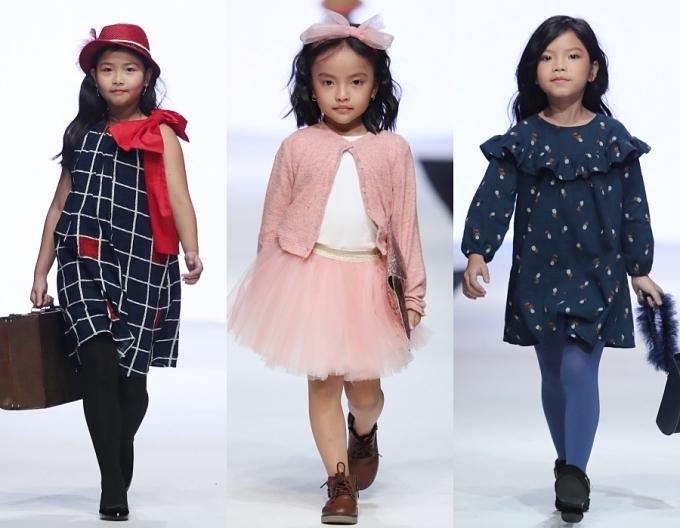 Con gái Xuân Lan, bản sao nhí Hồ Ngọc Hà trình diễn thời trang - 2