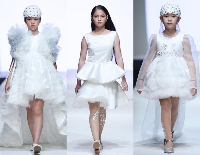Con gái Xuân Lan, bản sao nhí Hồ Ngọc Hà trình diễn thời trang - 6