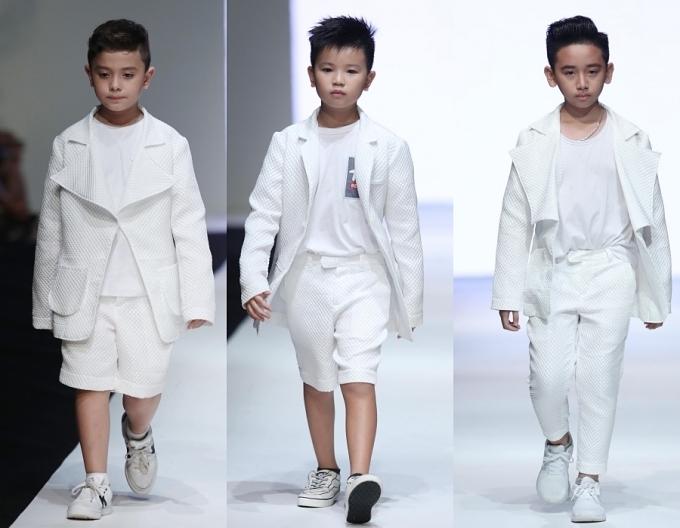 Con gái Xuân Lan, bản sao nhí Hồ Ngọc Hà trình diễn thời trang - 7
