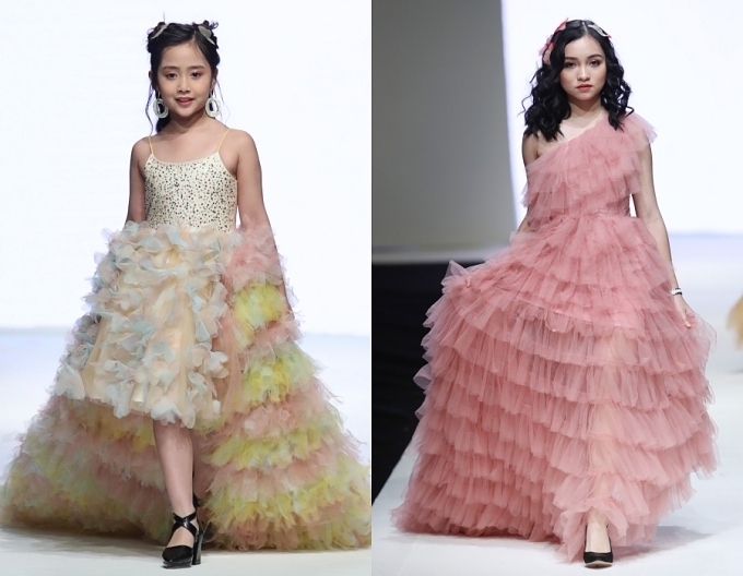 Con gái Xuân Lan, bản sao nhí Hồ Ngọc Hà trình diễn thời trang - 8