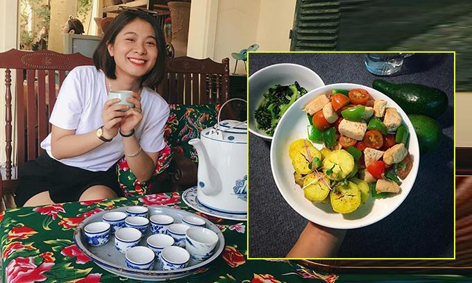 Thực đơn Eat Clean ngon mắt giúp 9X Hà Nội giảm 10 kg