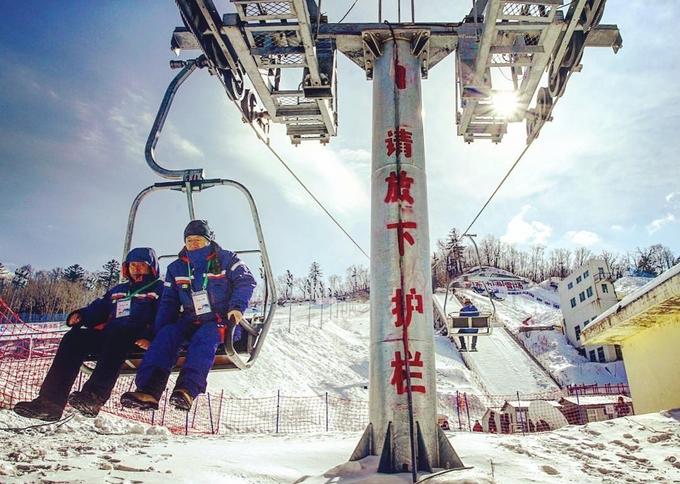 Ngôi làng tuyết trắng như cổ tích ở Trung Quốc