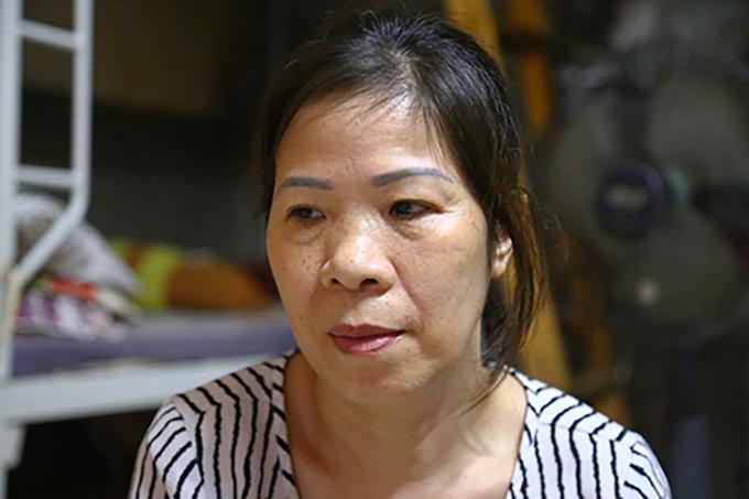 Bà Nguyễn Bích Quy tại nhà riêng vào trưa 27/8. Ảnh:Phạm Dự.