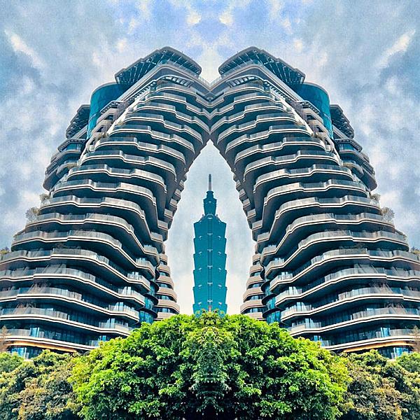 Tòa nhà xoắn quẩy - điểm check in mới ở Đài Bắc - 4