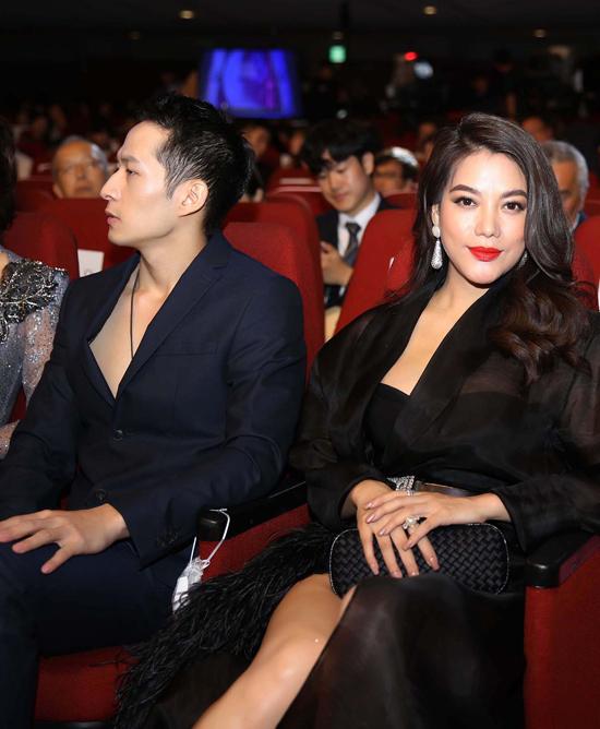 Trương Ngọc Ánh trên hàng ghế khách mời.