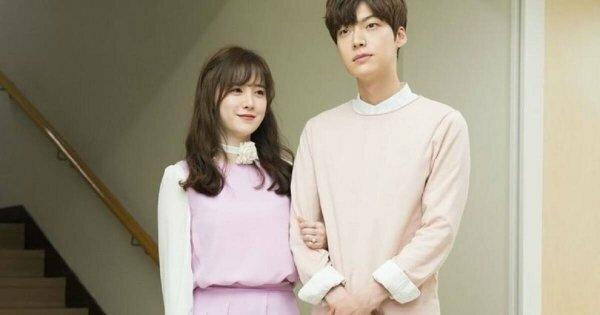 Vợ chồng Goo Hye Sun thời còn hạnh phúc.