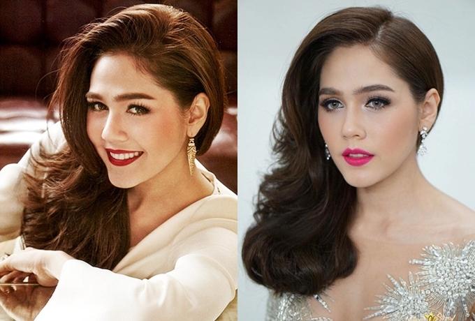 Biến hóa kiểu tóc của Thiên thần nội y Thái Lan - 6