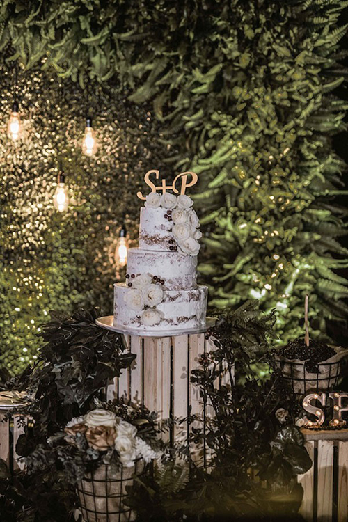 Tiệc cưới dành cho tín đồ cà phê