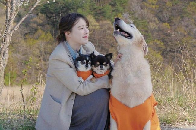 Goo Hye Sun trong tấm ảnh được cô chia sẻ trên mạng xã hội hôm 1/9.
