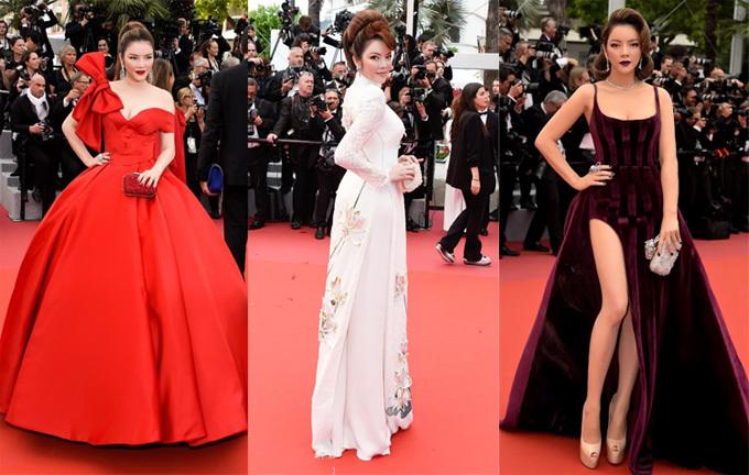 Người đẹp cũng không ngại thay đổi phong cách trên thảm đỏ, từ trẻ trung, hiện đại tới truyền thống, vintage.