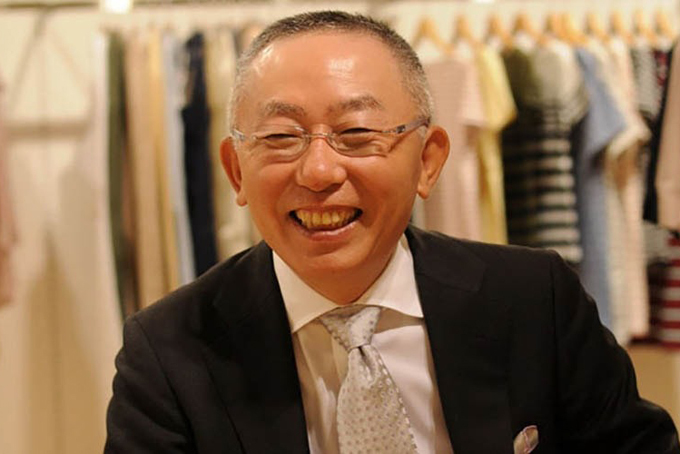 Tadashi Yanai, nhà sáng lập hãng bán lẻ Fast Retailing. Ảnh: Fashionunited.