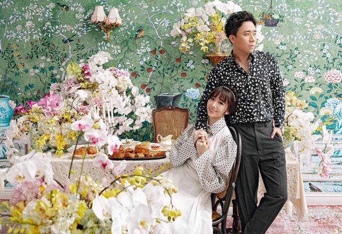 Hari Won chia sẻ, cô thấy mình may mắn khi lấy được người chồng như Trấn Thành.