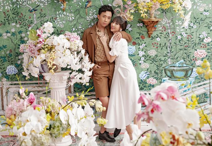 [Caption] Về phía Trấn Thành, nam MC cho biết những giây phút gia đình luôn được anh trân trọng và giữ gìn như một ký ức đẹp của cuộc hôn nhân.