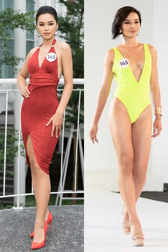 Lê Thu Trang làm tốt hai phần thi bikini và phỏng vấn với ban giám khảo, bởi cô cũng dự thi năm 2017 và lọt top 10 chung cuộc. Người đẹp cao 1,75m, số đo 85-60-95. Điểm trừ của Thu Trang là đôi chân chưa thon gọn, lộ rõ ở màn thi bikini.