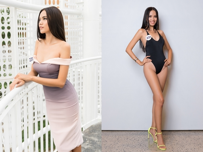 Lê Hoàng Phương nhận được sự ủng hộ lớn từ vòng thi ảnh online trước đó. Cô được khen ngợi về chiều cao 1,77m, đôi chân nuột nà, nhan sắc hiện đại. Dù vậy, Hoàng Phương có nụ cười chưa rạng rỡ.