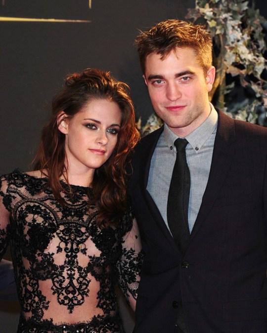 Kristen Stewart và Robert Pattinson thời còn bên nhau. Ảnh: PA.