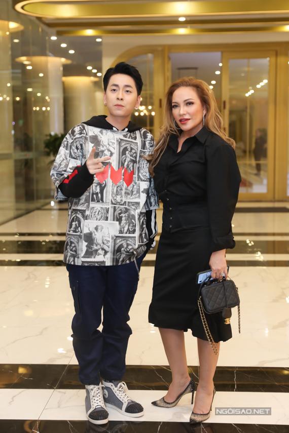 Ca sĩ Osad bụi bặm, cá tính bên đàn chị Thanh Hà.