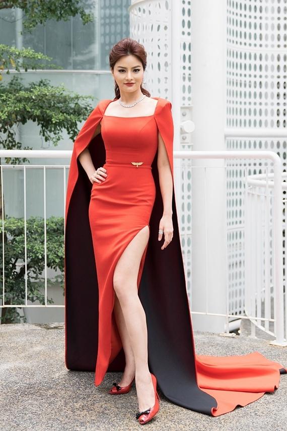 Vũ Thu Phương tái xuất, làm giám khảo Hoa hậu Hoàn vũ Việt Nam 2019. Cô xuất hiện ở buổi sơ khảo miền Nam, hôm 6/9.