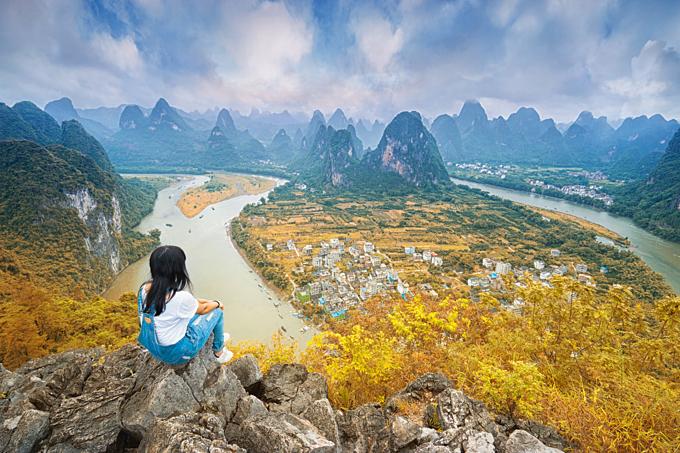 Yangshou là một địa danh không thể bỏ qua đối với tín đồ yêu thích phiêu lưu.
