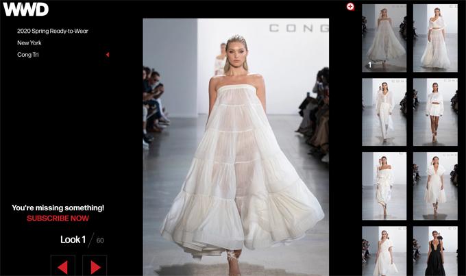 Lần thứ hai góp mặt ở New York Fashion Week, bộ sưu tập của Công Trí gây tiếng vang lớn trên truyền thông trong nước và quốc tế.