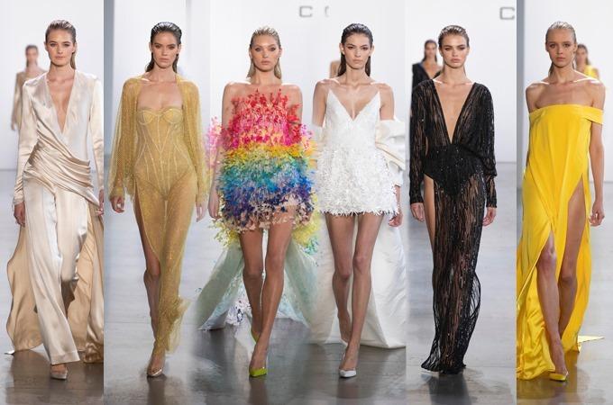 Tạp chí Harper Bazaar Mỹ cũng ưu ái Công Trí. Bộ sưu tập Đi nhặt hạt sương nghiêng có đến 6 mẫu thiết kế lọt vào top những bộ cánh đẹp nhất New York Fashion Week 2020 do tạp chí Harper Bazaar bình chọn.