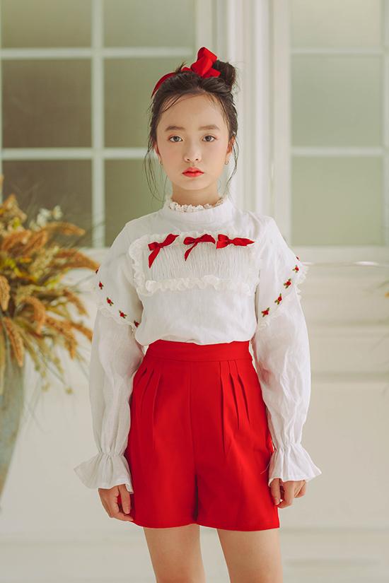 Đầm cổ điển cho bé gái - 5