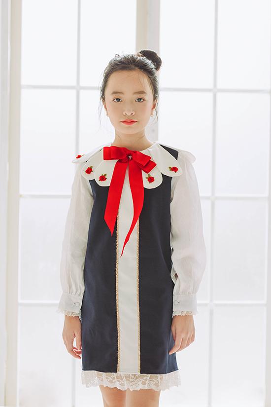 Đầm cổ điển cho bé gái - 8