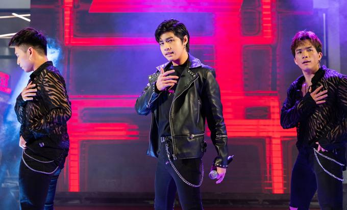 Noo Phước Thịnh mang tới 4 bản hit Wanna stay in love, Cause I love you, Really love you, Tôi là một ngôi sao với vũ đạo cực sôi động.