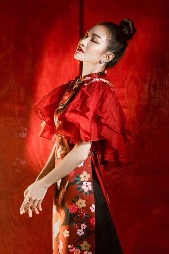 Váy đi tiệc theo phong cách Á Đông - 3