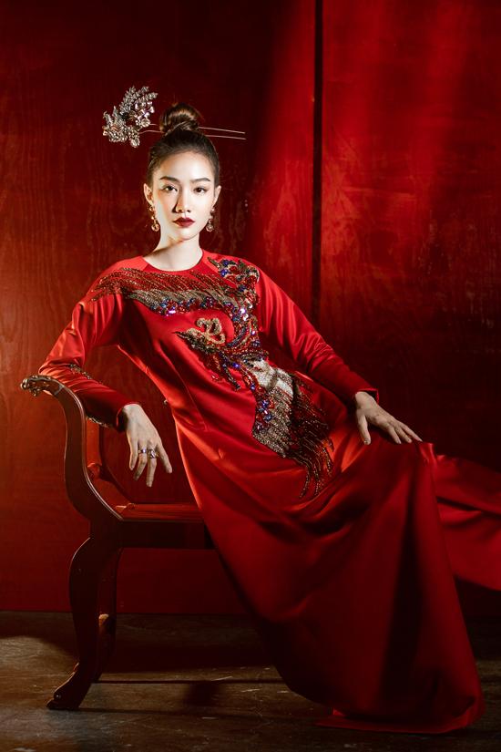 Váy đi tiệc theo phong cách Á Đông