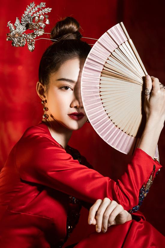 Váy đi tiệc theo phong cách Á Đông - 2