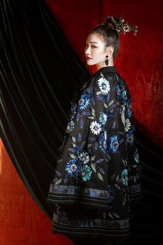 Váy đi tiệc theo phong cách Á Đông - 5